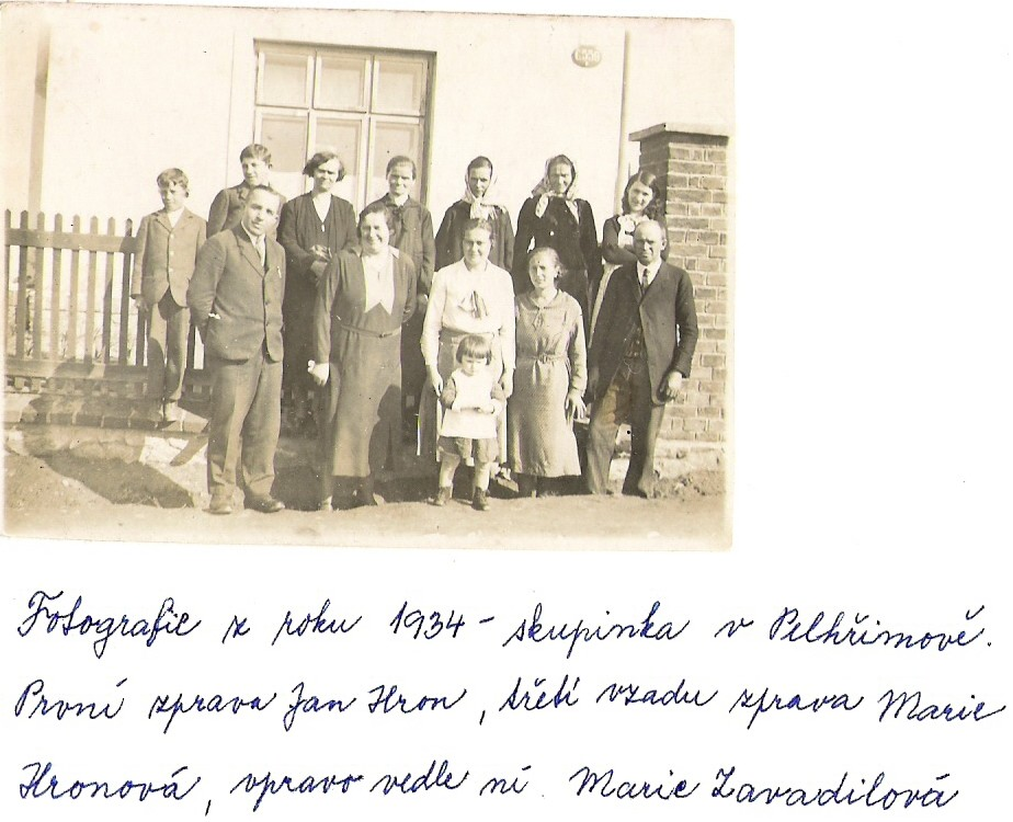 Skupinka v Pelhřimově